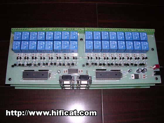 用户定制的32路继电器控制