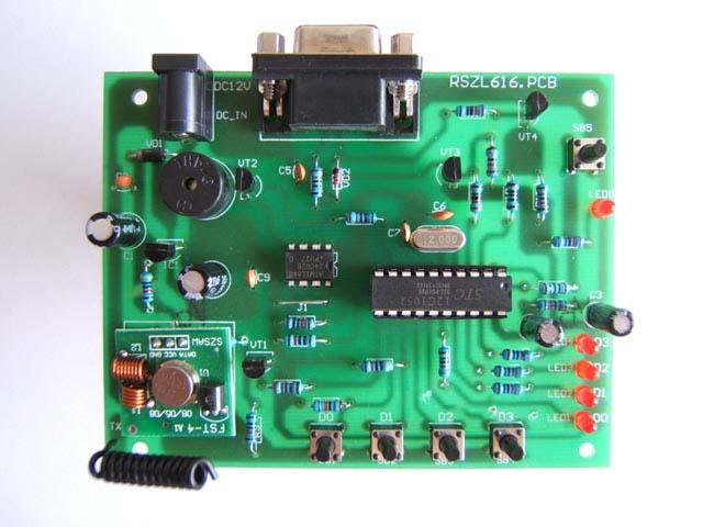 编码器硬件的设计:电路原理如图