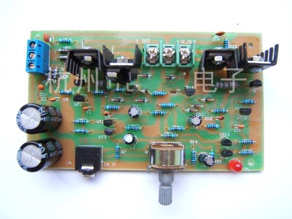 ocl分立式功放电路的制作