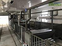 具备新风系统的养猪场智能化精准饲喂系统
