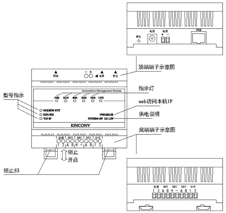 中央空调远程控制器
