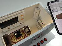 KC868-H8智能掌握盒app掌握衡宇沙盘模子
