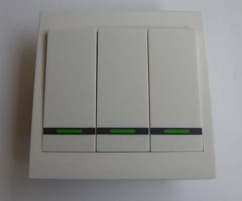 三路遥控开关接线图; 遥控接收器接线图;