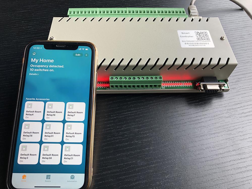 homeassistant控制32路继电器