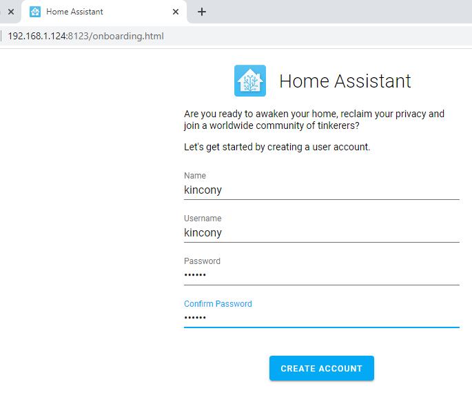 home assistant控制继电器
