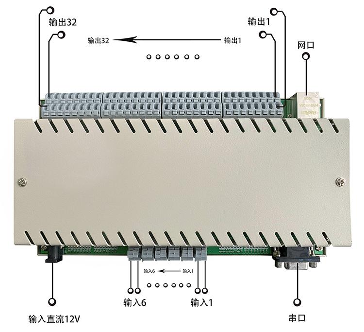 网络继电器接口定义
