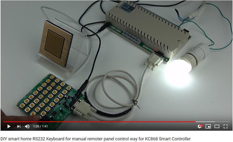 手动控制网络继电器