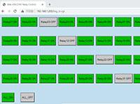 KC868-H32B固件更新支持web网页控制开关