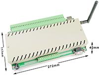32路大功率10A以太网网络继电器控制模块发布
