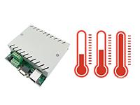 网络版环境温湿度pm2.5空气质量检测盒布发