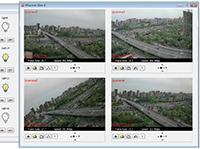 32路网络继电器支持4画面摄像头视频直播