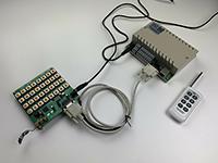 通过手动按键板实现继电器多种控制方式演示