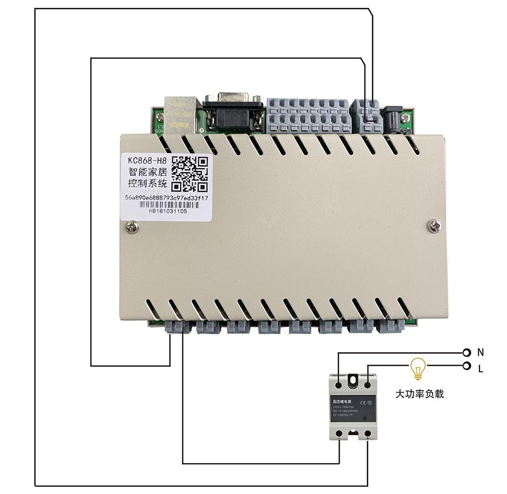 网络继电器功率扩展