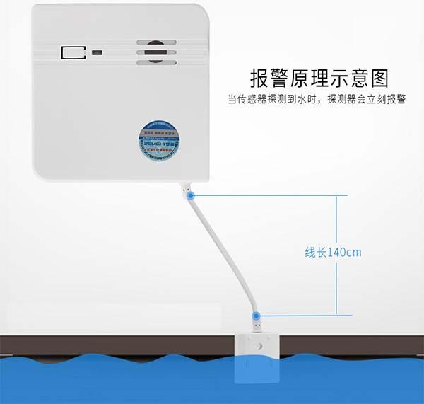 漏水传感器报警示意图