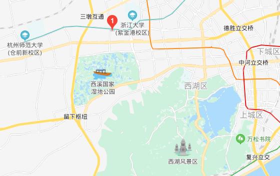 杭州晶控电子有限公司位置