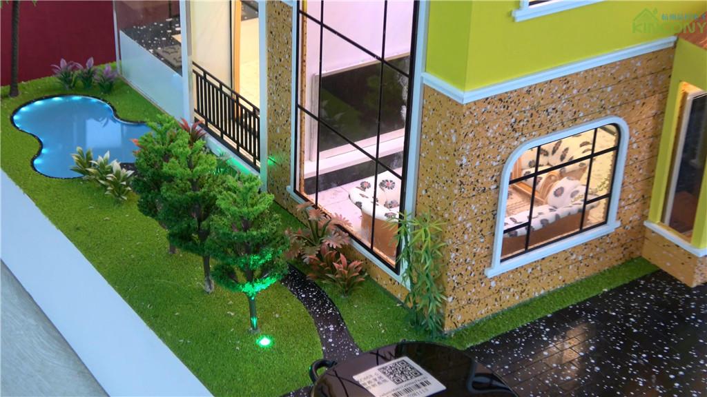 智能家居别墅模型