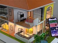 智能家居别墅沙盘演示模型