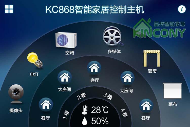 smart home pad