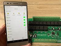 智能家居网络继电器局域网android软件发布