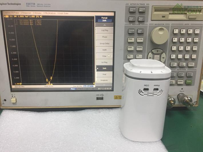 无线温湿度采集测试