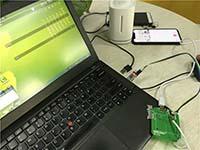 Uair手机温湿度检测开发板源程序代码开源
