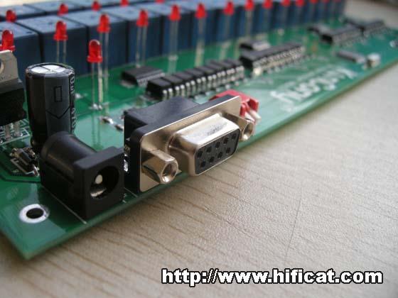 标准9芯片rs232串口通信接口