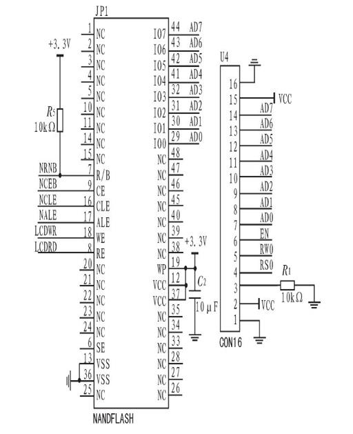 gsm和单片机连接的电路图