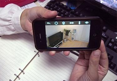 手机观看监控图像