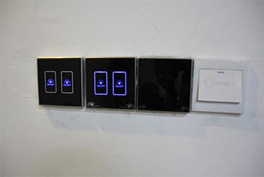 86型智能灯光面板