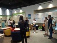 杭州市科技局领导莅临晶控电子调研视察